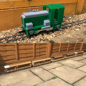 16mm Scale Upnor Castle Modern Train Pack