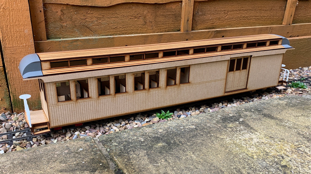 16mm scale Sandy River and Rangeley Lakes Railroad Combine 14 - As built
