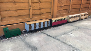 16mm Scale Chattenden and Upnor Railway Multipack