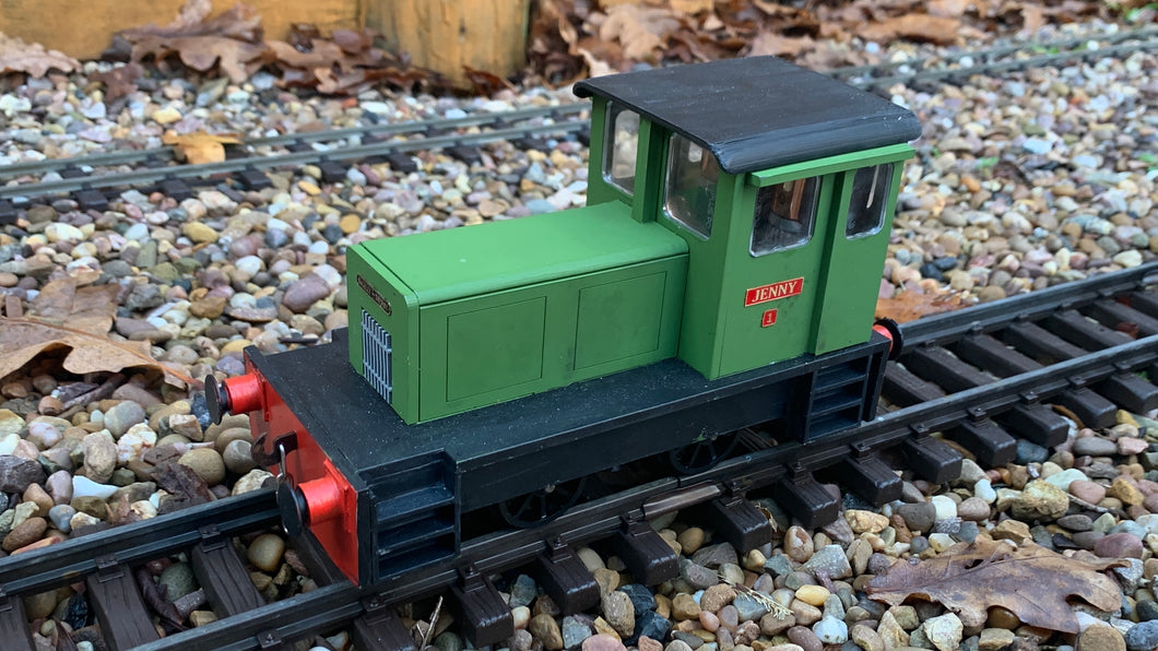 1:32 Scale Baguley Drewry 162hp Diesel Hydraulic