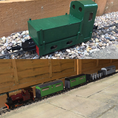 16mm Scale Bowaters Paper Railway The Tank Passenger Multipack