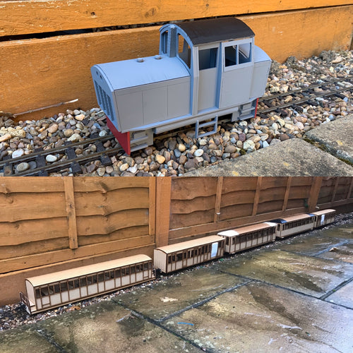 16mm Scale Conway Castle Heritage Train Pack