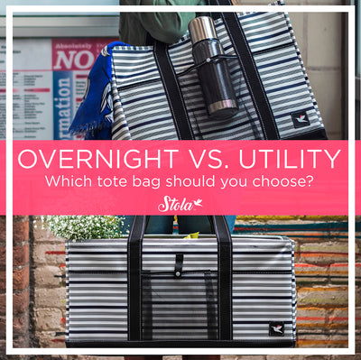 Overnight Vs. Utility: Which Stola Tote Bag Should You Choose?