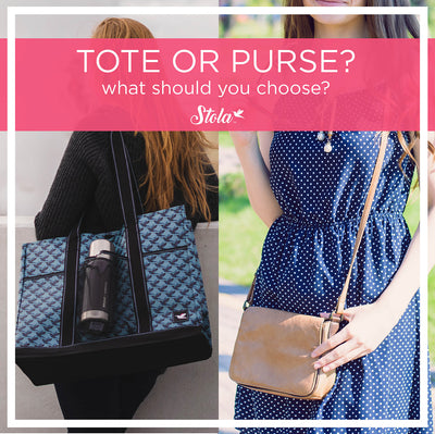 The Difference Between a Tote & Purse: What Should You Choose?