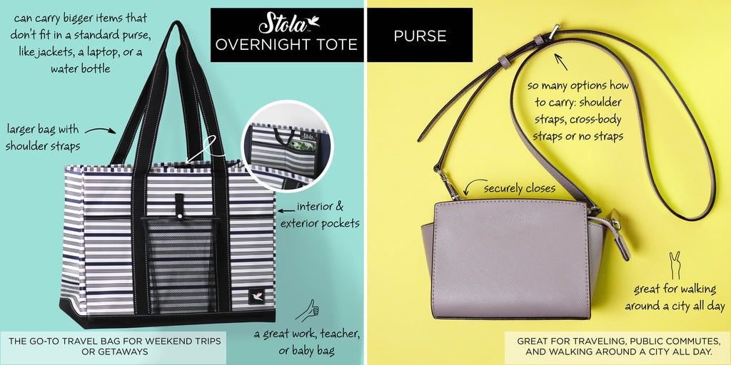 Stola, Comparison, Purse, Tote