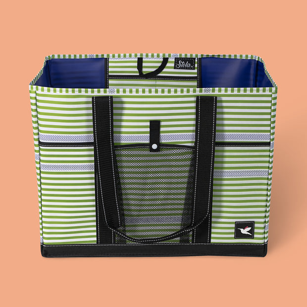 Overnight Tote - Herringbone Ribbons