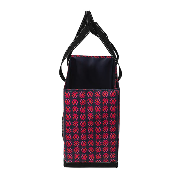Overnight Tote - Honeysuckle Tribal