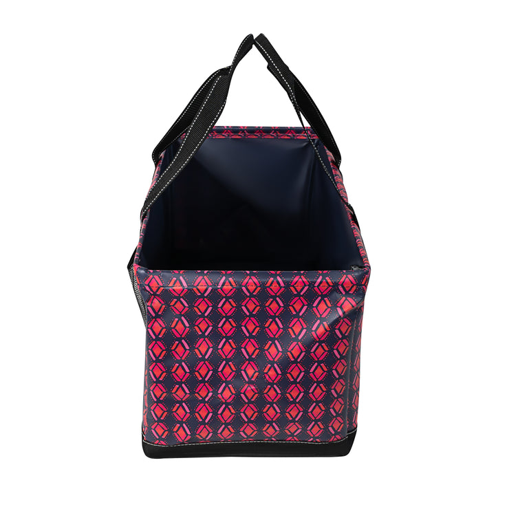 Utility Tote - Honeysuckle Tribal
