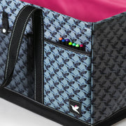 Utility Tote - Hummingbird Houndstooth