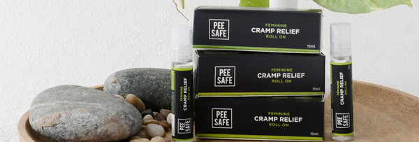 Feminine Cramp Relief Roll On - A natural pain reliever for cramps