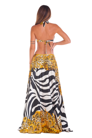 Golden Zebra Pareo Outfit