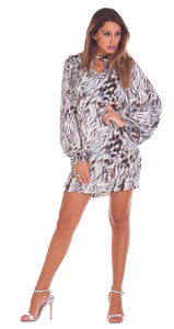 Animalier Minidress - Scalzi&Pareati