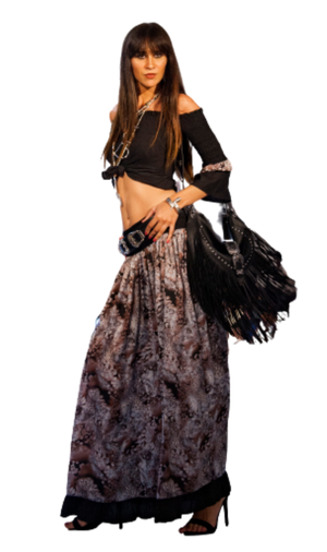 Gipsy Animalier Skirt - Scalzi&Pareati