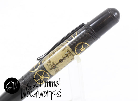 Handmade Schimmel Pen - Vintage Watch Part Pen - Comes in gift box