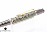 Handmade Schimmel Ballpoint Pen - Vintage Stock / Vintage Bond - Pennsylvania Gold Mining Co Stock- Comes in gift box