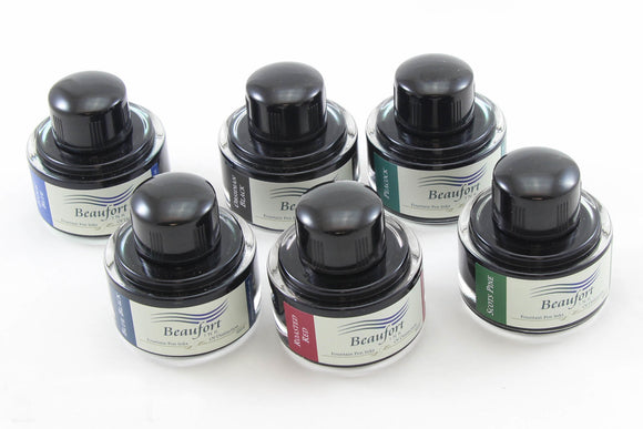 Fountain Pen ink refill - Bottled Fountain Pen Ink - Beaufort Ink - Upgraded ink for Fountain pen - Red ink, Blue ink, Purple ink, Green ink