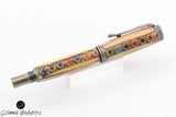 Handmade Schimmel Fountain Pen - Colored Pencil Fountain Pen made with real colored pencils - Comes in gift box