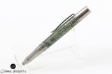 Handmade Schimmel Ballpoint Pen - $100 Bill Pen with Antique Pewter accents - Comes in gift box