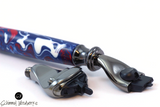 Handmade Schimmel Razor Mach 3 & Venus, Fusion Razor.  Great gift for him or her. Patriotic red, white and blue