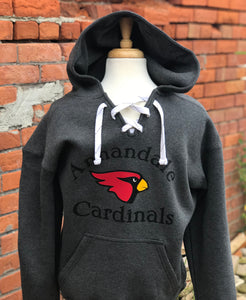 Annandale Cardinal Lace-up Hockey Hoodie