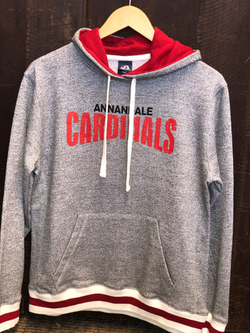 Annandale Cardinals Peppered Fleece Sweatshirt