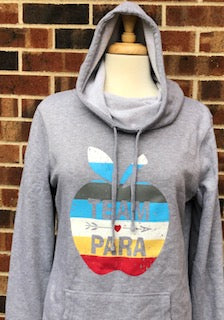 Team Para Ladies Cowl Neck Sweatshirt