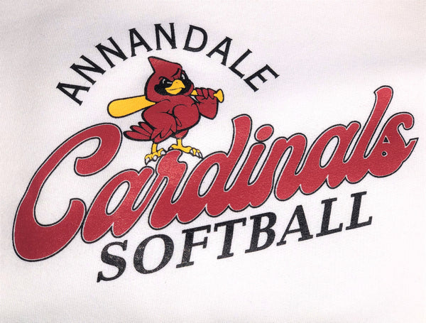 Annandale Cardinals Raglan Softball Sweatshirt