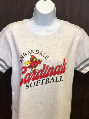 Annandale Cardinals Softball Ladies Victory T-Shirt