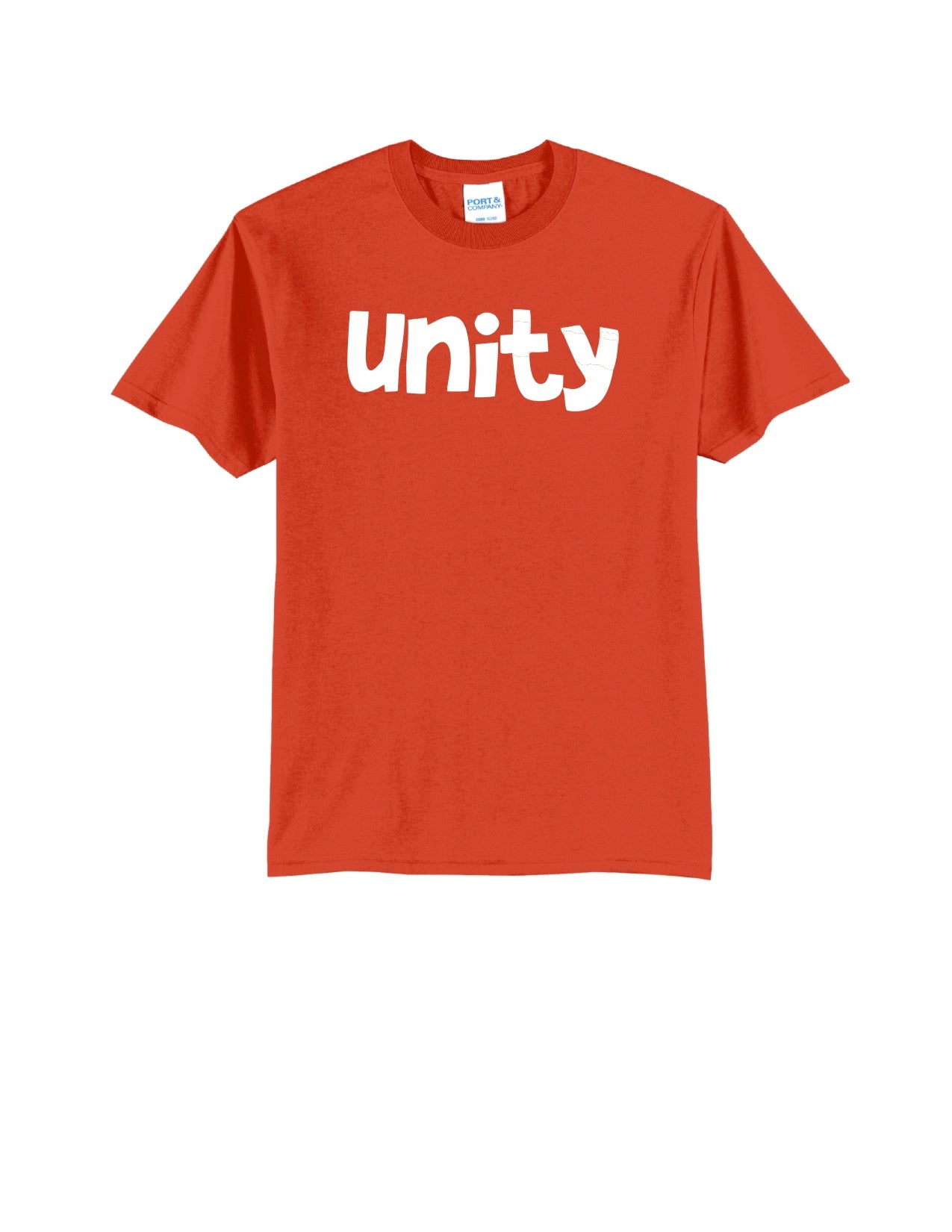 Short Sleeve Orange Unity Shirt