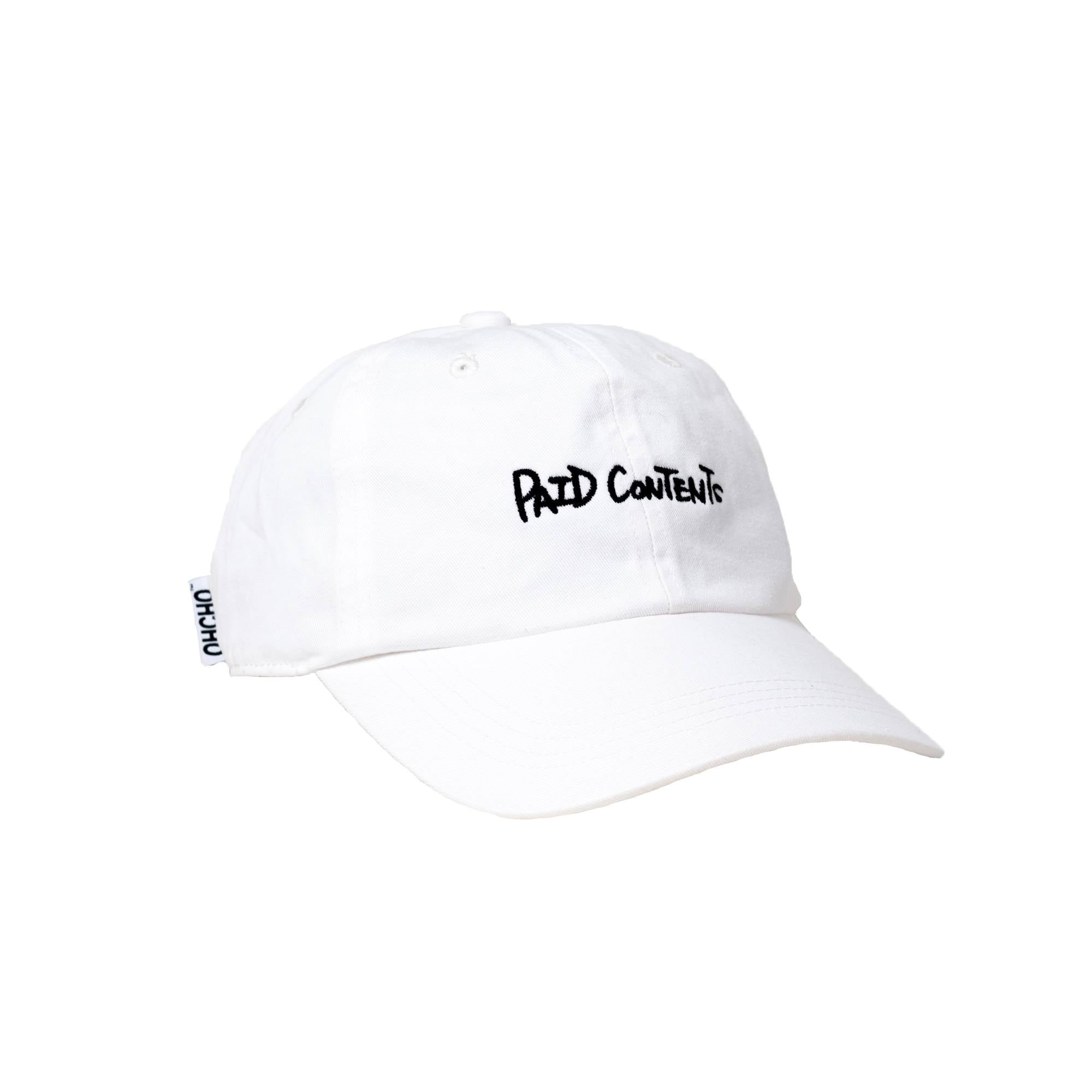 PAID CONTENTS(WHITE-blk)