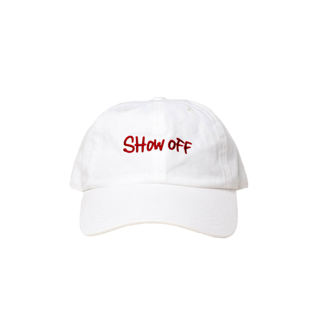SHOW OFF(WHITE-red)