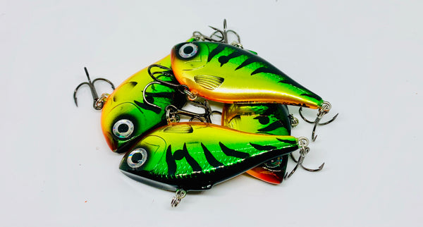Custom Painted Rippin' Raps by Rapala