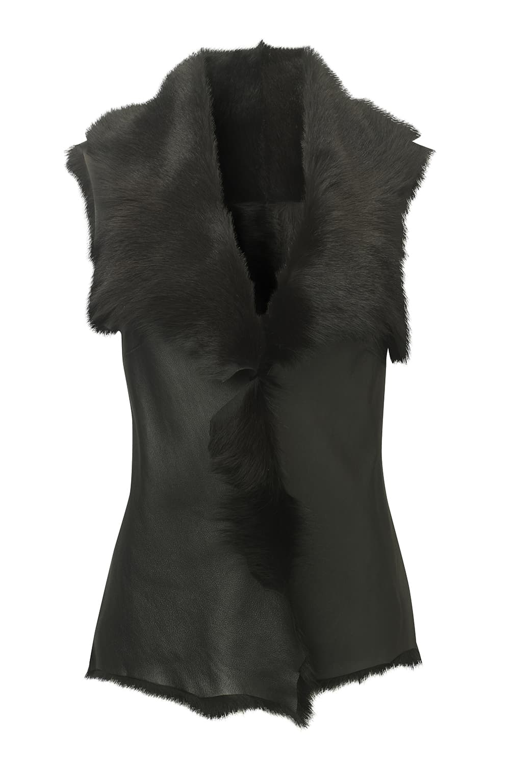 Leather Goatskin Gilet