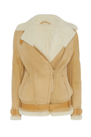 Lambskin Aviator Jacket