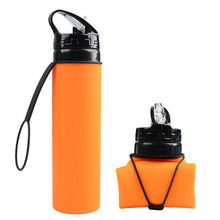 Collapsible Silicone Bottle
