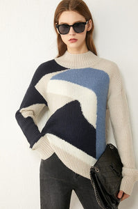 Turtleneck Loose Sweater