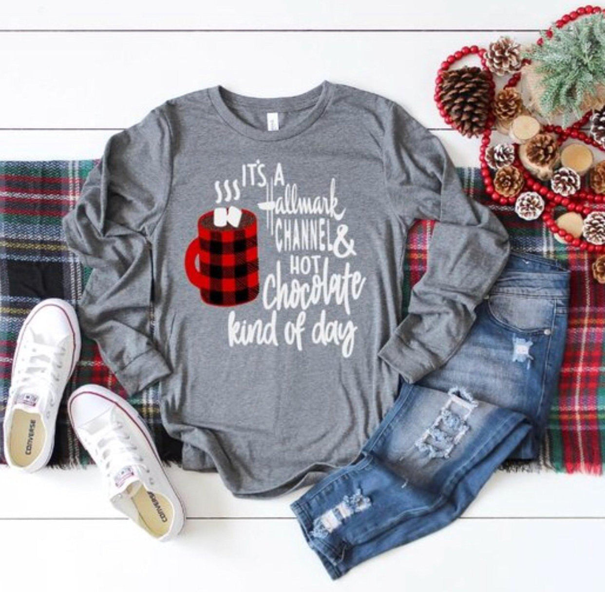 af04f4c2 Load image into Gallery viewer, Hallmark Christmas shirt ...