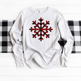 Buffalo Plaid Snowflake