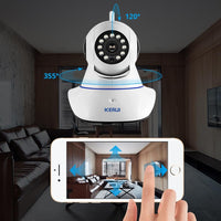 Camera - KERUI 720P 1080P HD Wifi Wireless Home Security IP Camera Security Network CCTV Surveillance Camera IR Night Vision Baby Monitor
