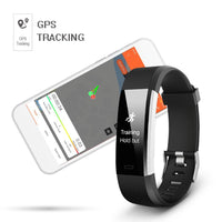 Health And Fitness - ID115PLUS Smart Wristbands Fitness Bracelet Heart Rate Tracker Smartband Waterproof Fitness Bracelet Pk Mi Band 2 FitBits