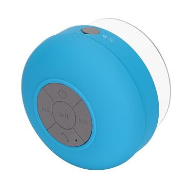 Portable Speakers - Fornorm Mini Portable Subwoofer Shower Bathroom Waterproof Wireless Bluetooth Speaker Built-in Mic