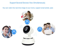 JOYZON 1080P HD Baby Monitor Auto Tracking Night Vision IP Camera WiFi Wireless