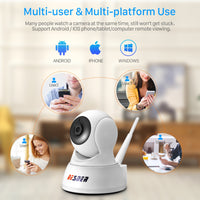 BESDER 1080P 720P Home Security IP Camera Two Way Audio  Night Vision Baby Monitor Wireless Camera