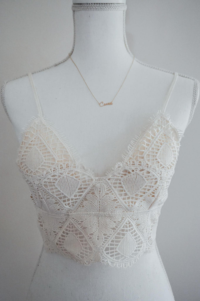 Your Fantasy Bralette- Off White
