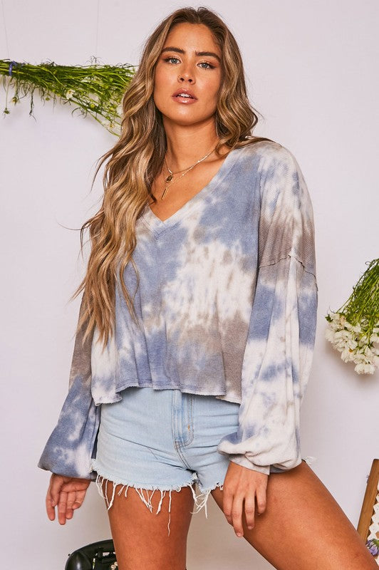 Madison Tie Dye Long Sleeve