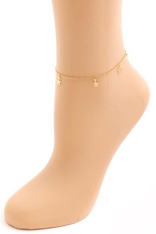 Among The Stars Anklet