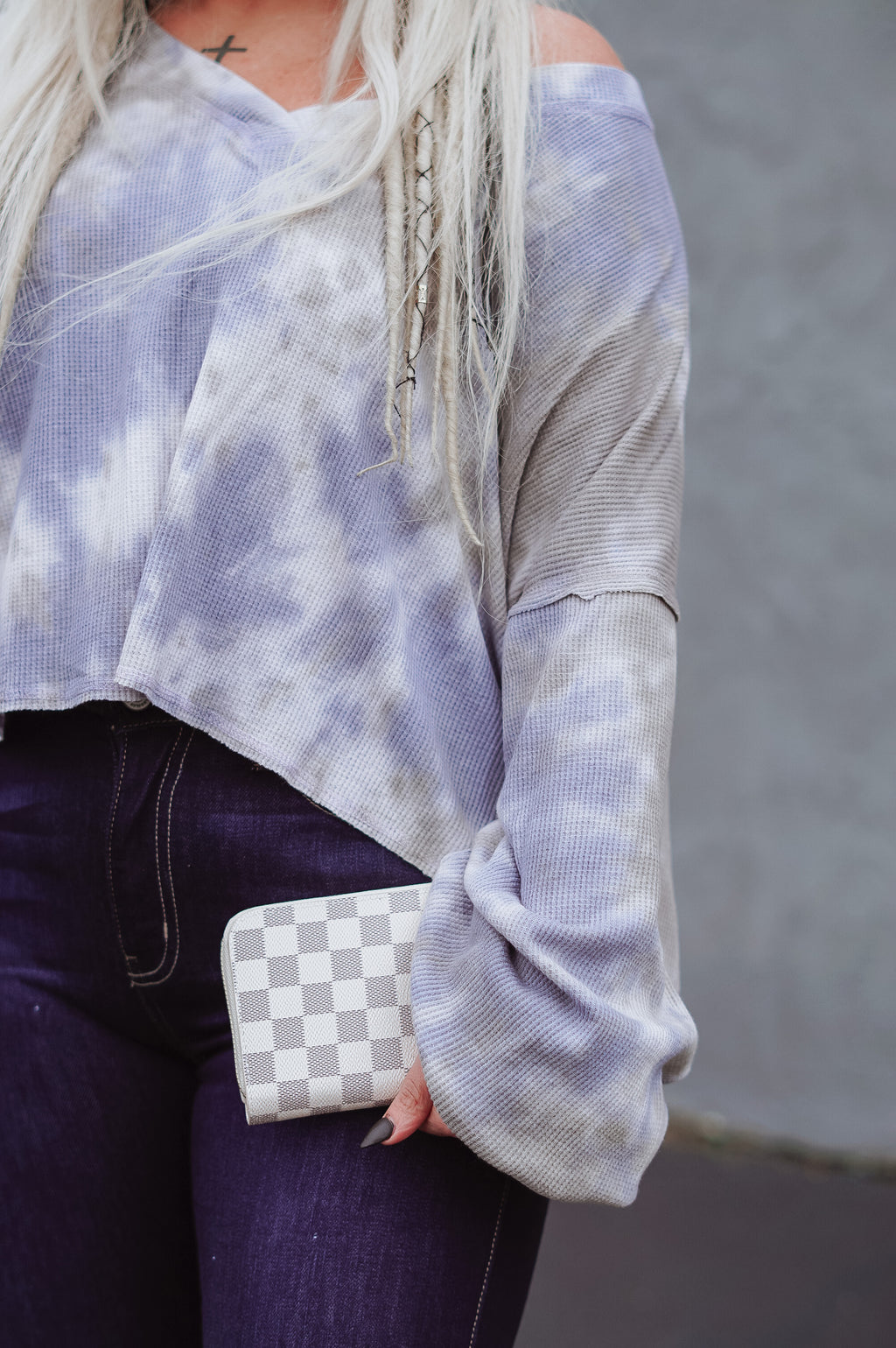 The Taya Wallet: Cream