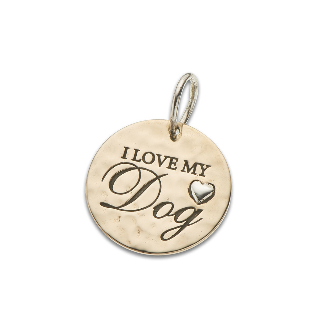 Palas - I Love My Dog Charm