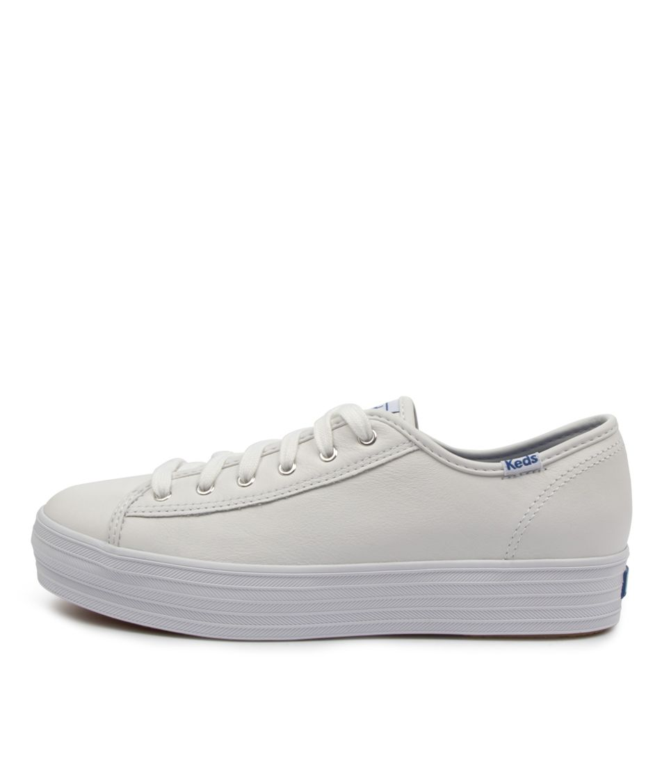 Keds - Triple Kick Leather Sneaker White