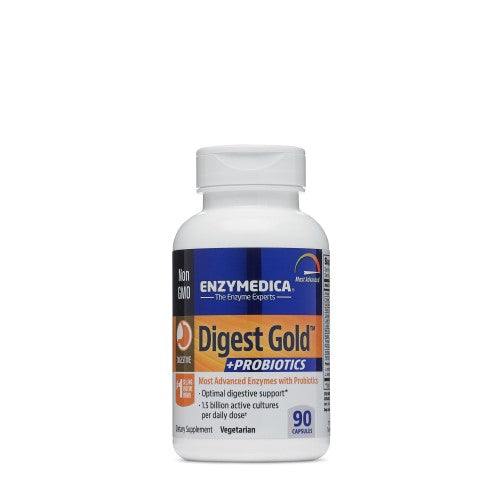 Enzymedica Digest Gold with Probiotic, 90cap